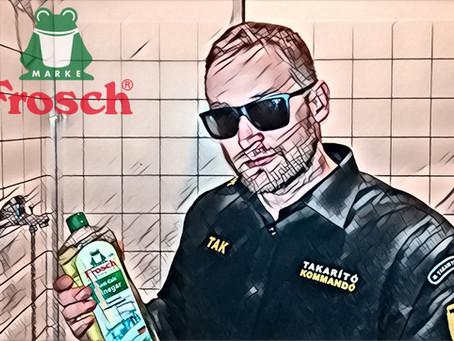 Teszt: Frosch - Anti Calc Vinegar Vízkőoldó