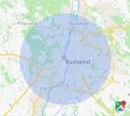 Takarítás Budapesten térkép