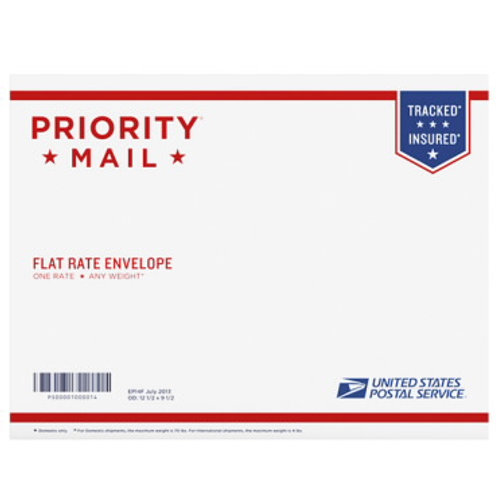 Priority Mail Shipping of Certification Card