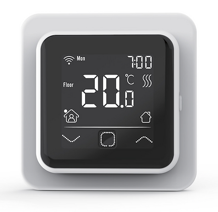 Termostat TVT40 biely