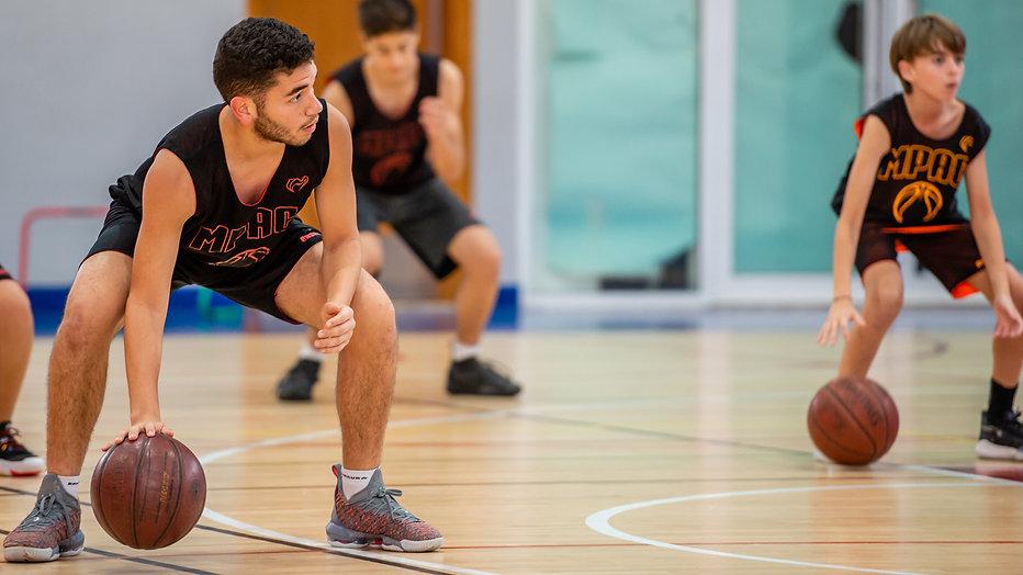 Basketball Drill in Dubai