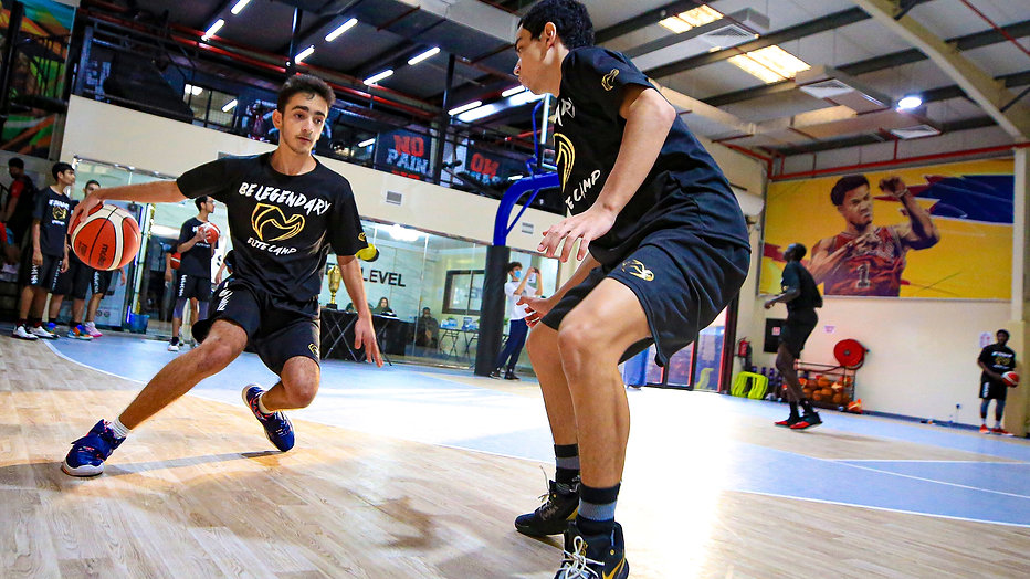 Elite Basketball Camp in Dubai