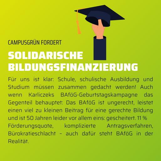 Solidarische Bildungsfinanzierung