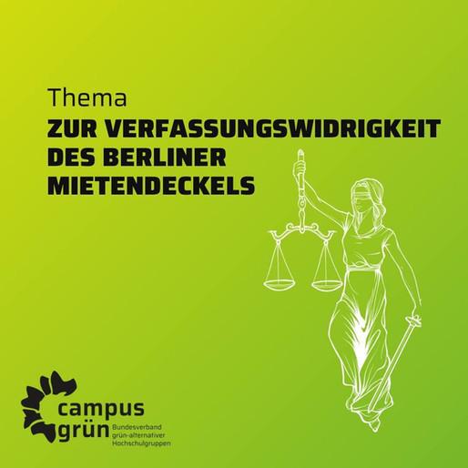 Zur Verfassungswidrigkeit des Berliner Mietendeckels