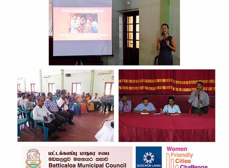 The Municipality of Batticaloa Takes the Lead for Sri Lanka