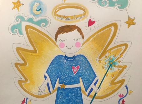 KIDS ART Angelitos personalizados 👼🏼 pide el tuyo!