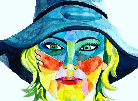 Retratos a todo color