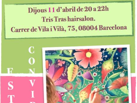 Inaguración exposicion Primavera eterna   Jueves 11 de abril 20h