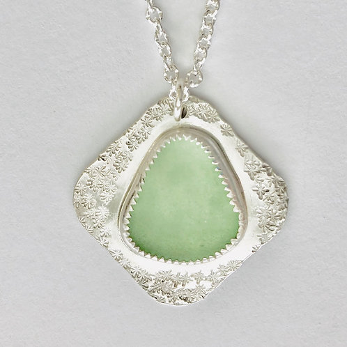 Seafoam Green Necklace