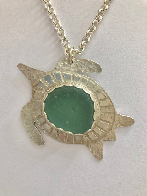 Open Water Turtle Necklace