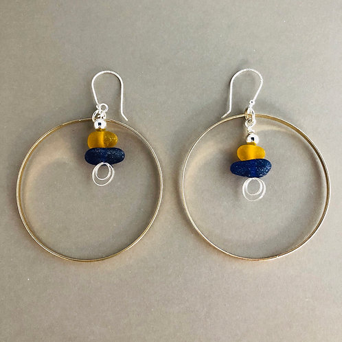 Circles of Love Earrings