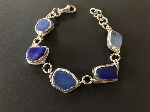 Shades of Ocean Blue Bracelet