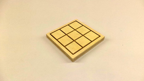 3x3 Double sided D&D Module for 28mm miniatures