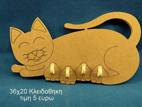 B38 Μαμα Γατα (κλειδοθηκη)