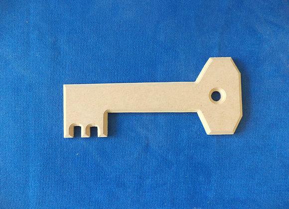 Β24 Κλειδί 30χ10 MDF 8 ΧΙΛ