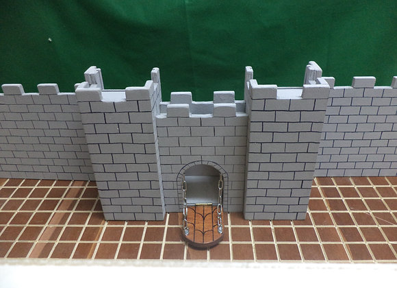 DM's Castle Screen (Screen+Dice Tower+Storage)