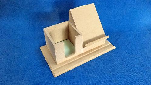 Z48 Βάση Κινητου με θηκη για χαρτακια 25χ12χ15