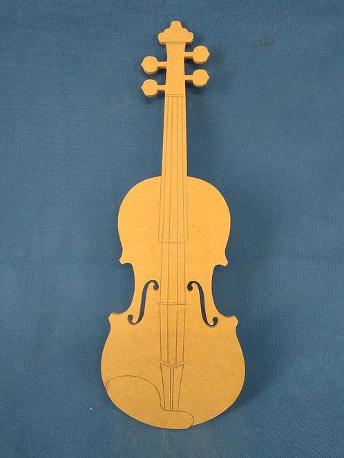 B35 Βιολι 60χ25 με δοξαρι 60χ3