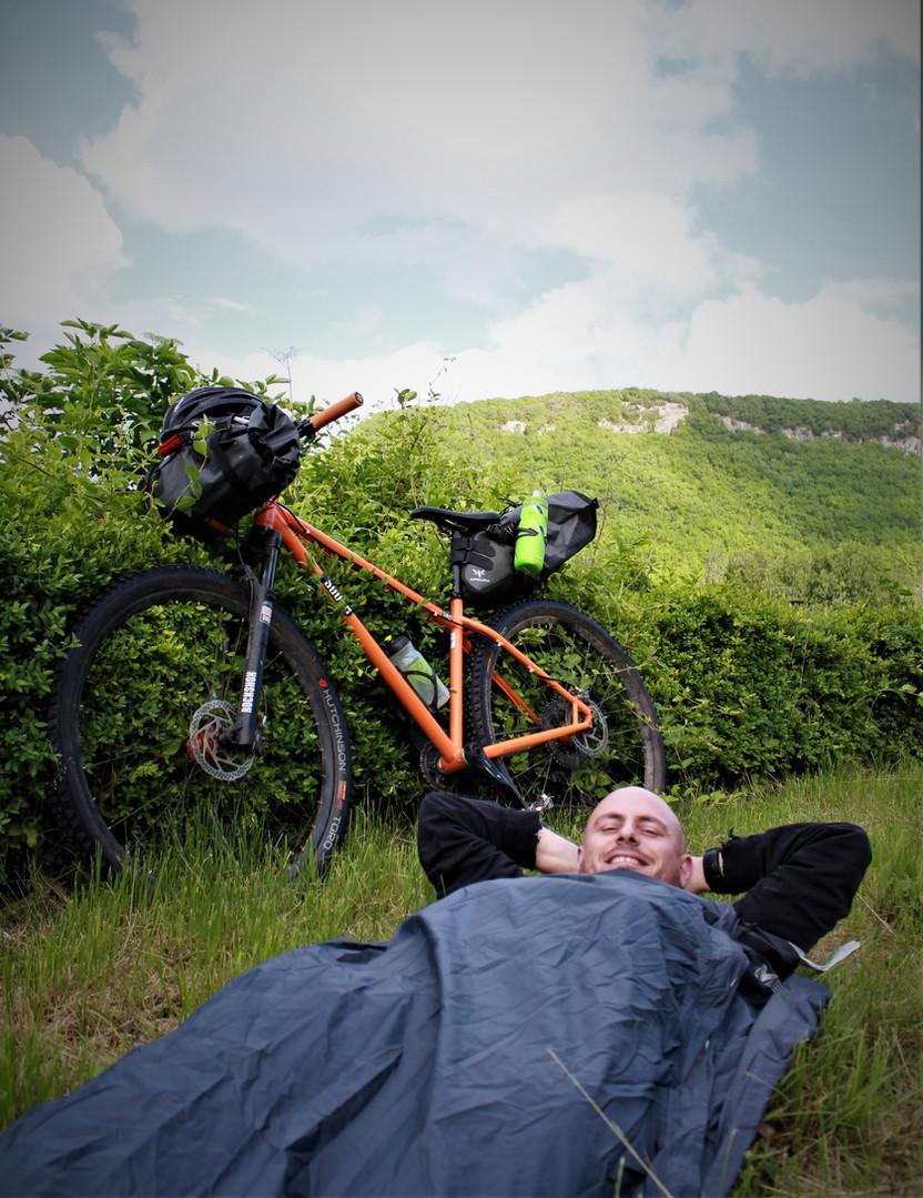 aventure dordogne bike packing