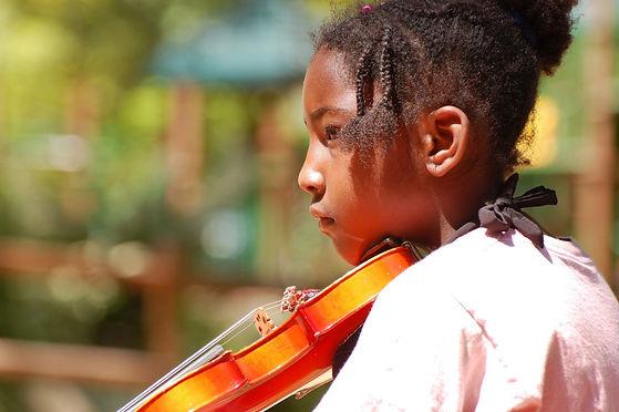 intrinsically motivated violin student