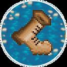 pixel art game badge
