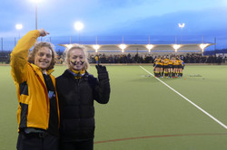 Womens 3s coaches after Varsity Win!