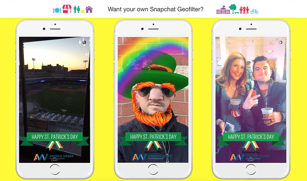 snapchat geofilter social media agency belfast northern ireland
