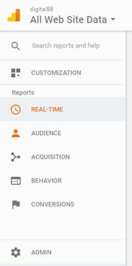 Google Analytics headings