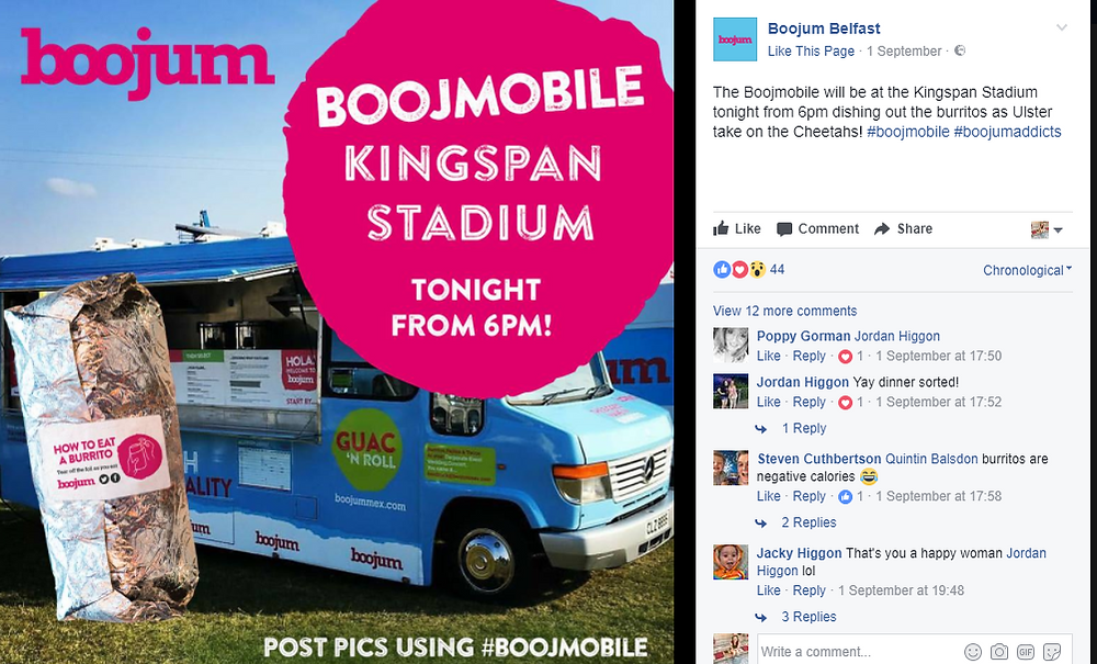 Boojum guerrilla marketing
