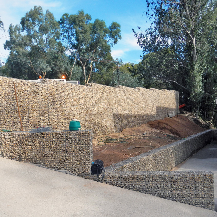 Rockweld Fence and Retaining Wall