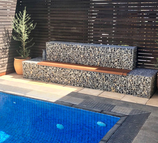Gabion Inspiration for Self-Isolation (In Your Own Backyard)