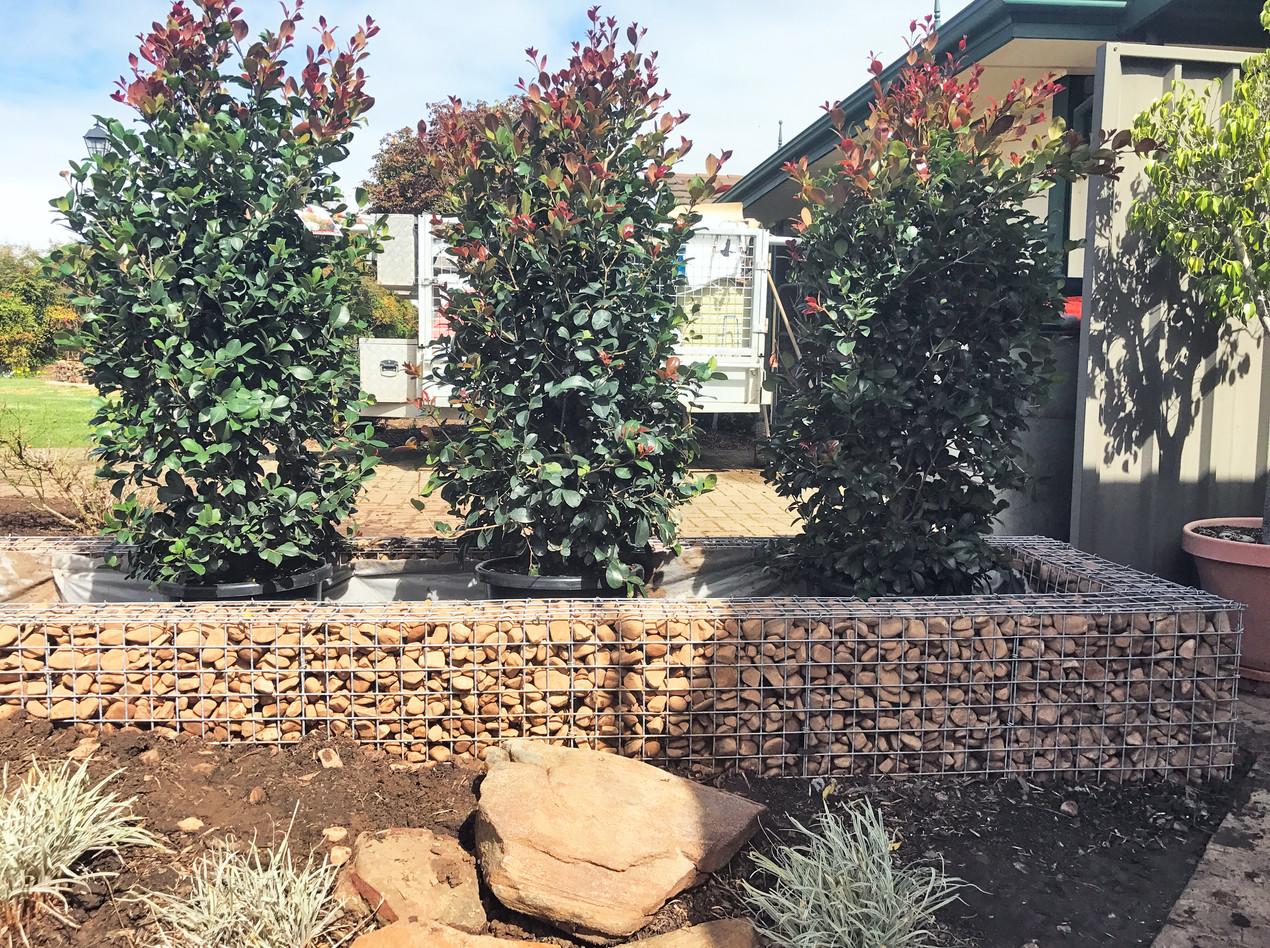 Rockweld River Pebble Planter Box