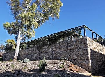 Sandstone Gabion Retaining Wall by Prospect Contractors