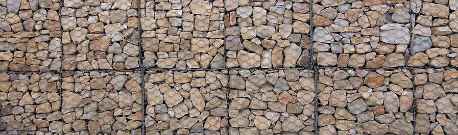 Gabions can act as a noise barrier, soundproofing you home from traffic noise