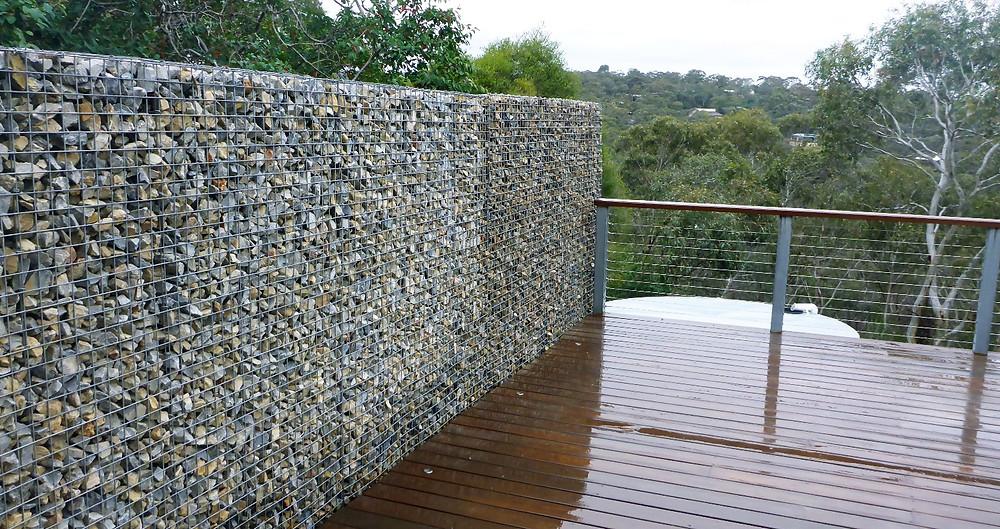 Rockweld Gabion Wall