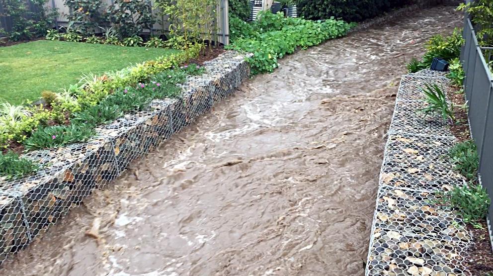 Gabion Protected Creek