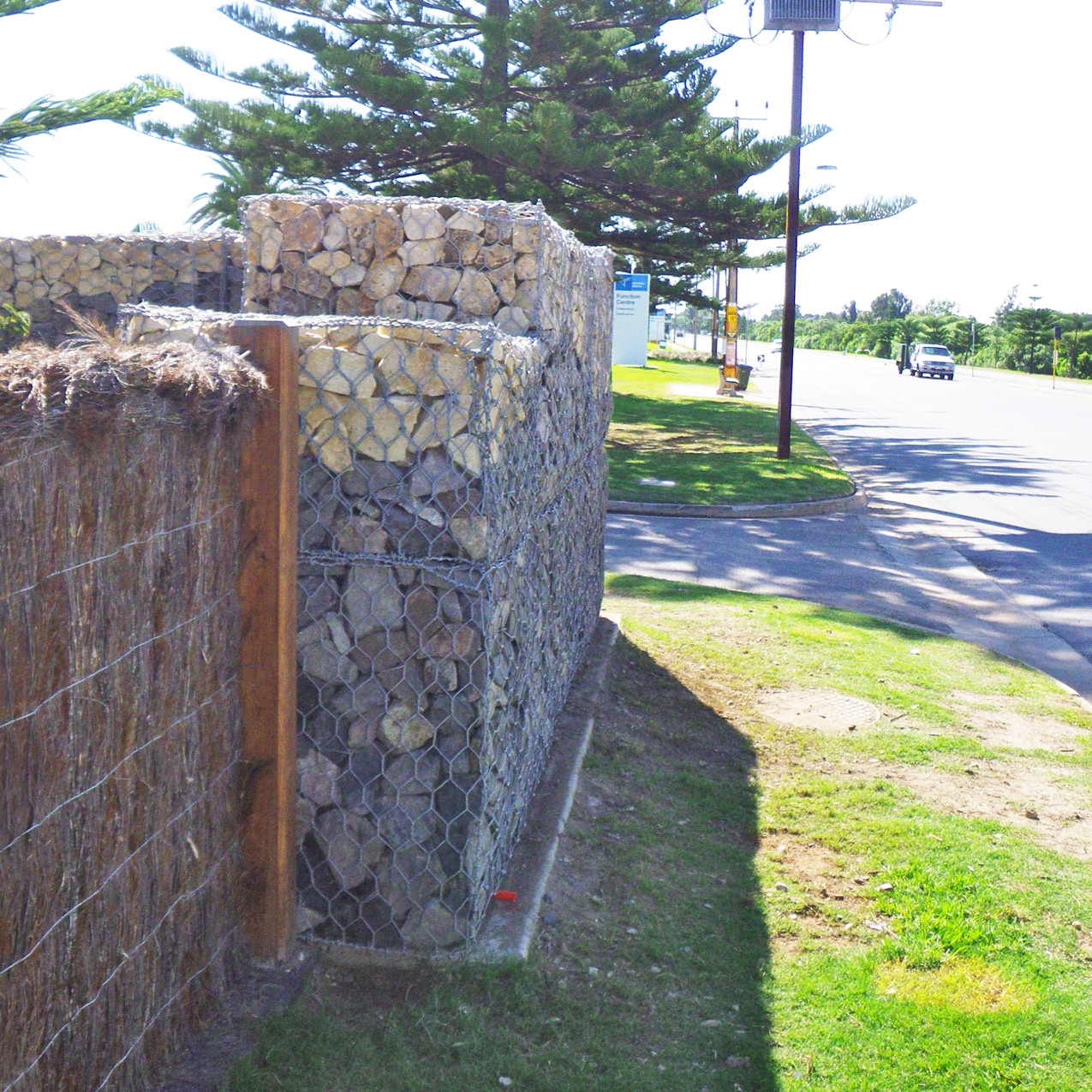 Replacement Gabion Wall