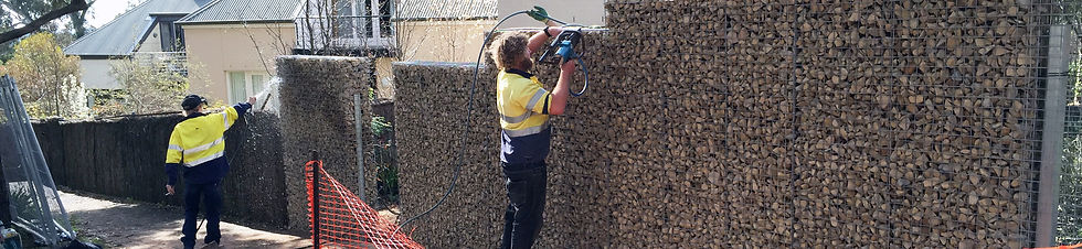 Rockweld Gabion fence installers