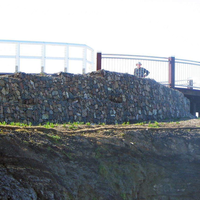Barr Beach NSW Gabion Sea Wall