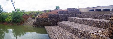 Anglo Coal Moranbah Gabion Weir