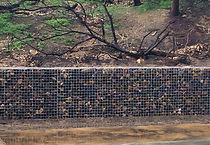 Rockweld Gabion retaining wall