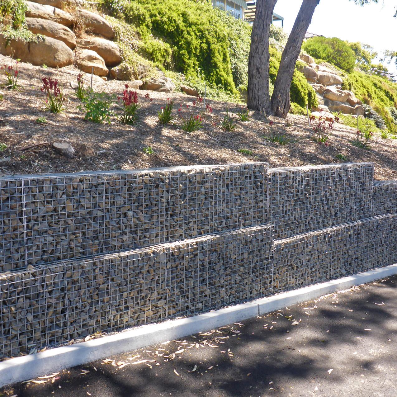 Rockweld Gabion walls