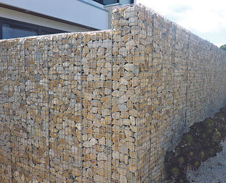 Sandstone Gabion Retaining Wall by Prospect Contractors