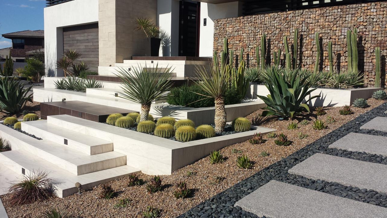 Landscaping Feature Wall