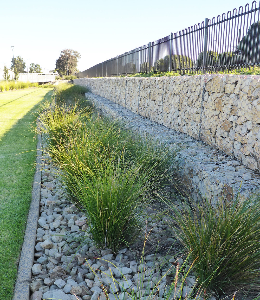 The Square at Woodville West Gabions