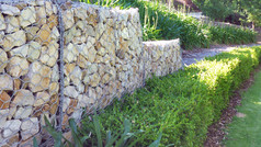 10 More Gabion Retaining Wall Ideas