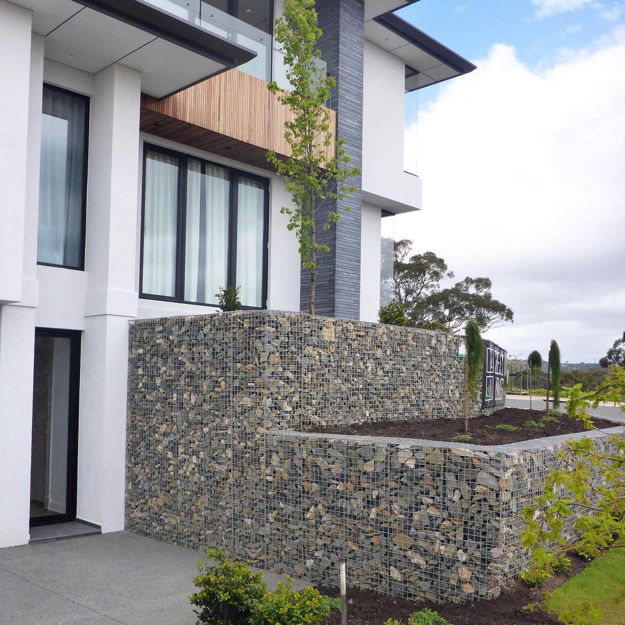 Beechwood Display Home Front Wall