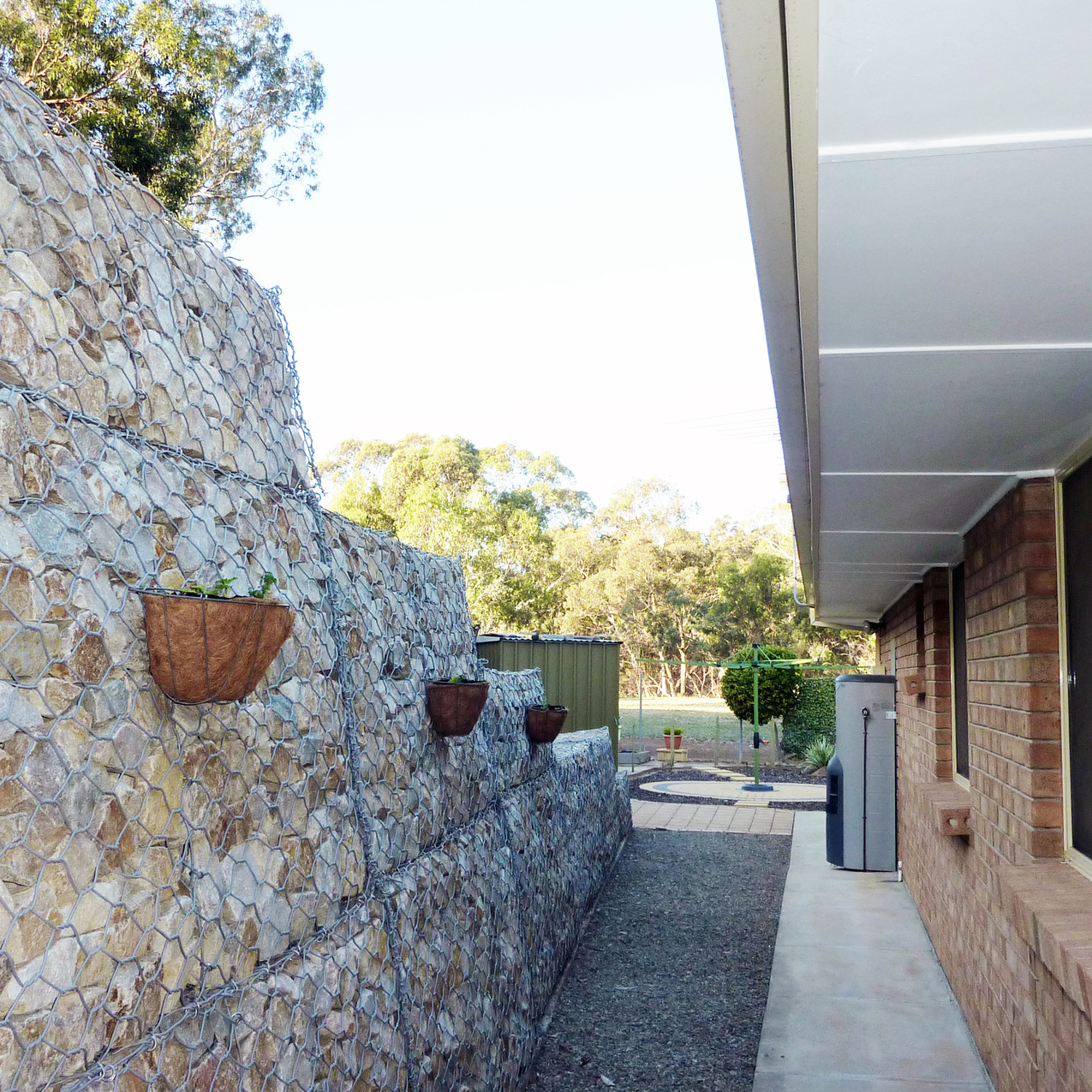 Happy Valley Gabion Retaining Walls