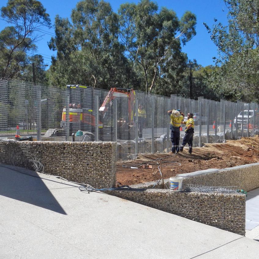 Rockweld Fence Installation