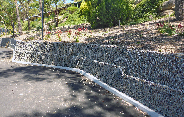 Kalyra Rockweld Gabion Retaining Walls